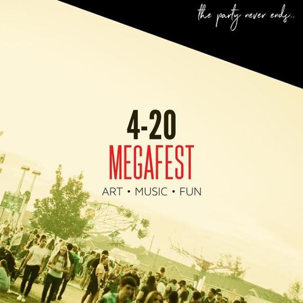 4-20 Mega Music Arts & Film Festival