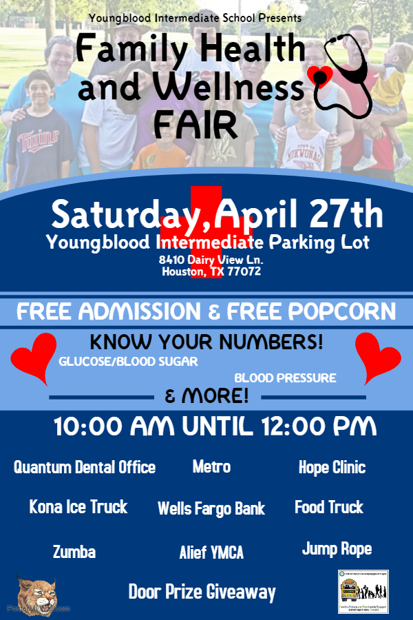 Youngblood Intermediate School Family Health And Wellness Fair