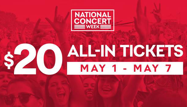 National Concert Week - Live Nation