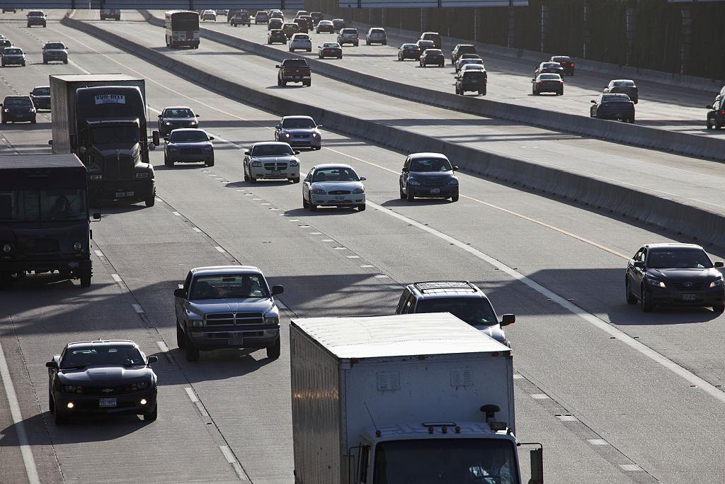 USA - Texas - Traffic on Highway 610 in Houston