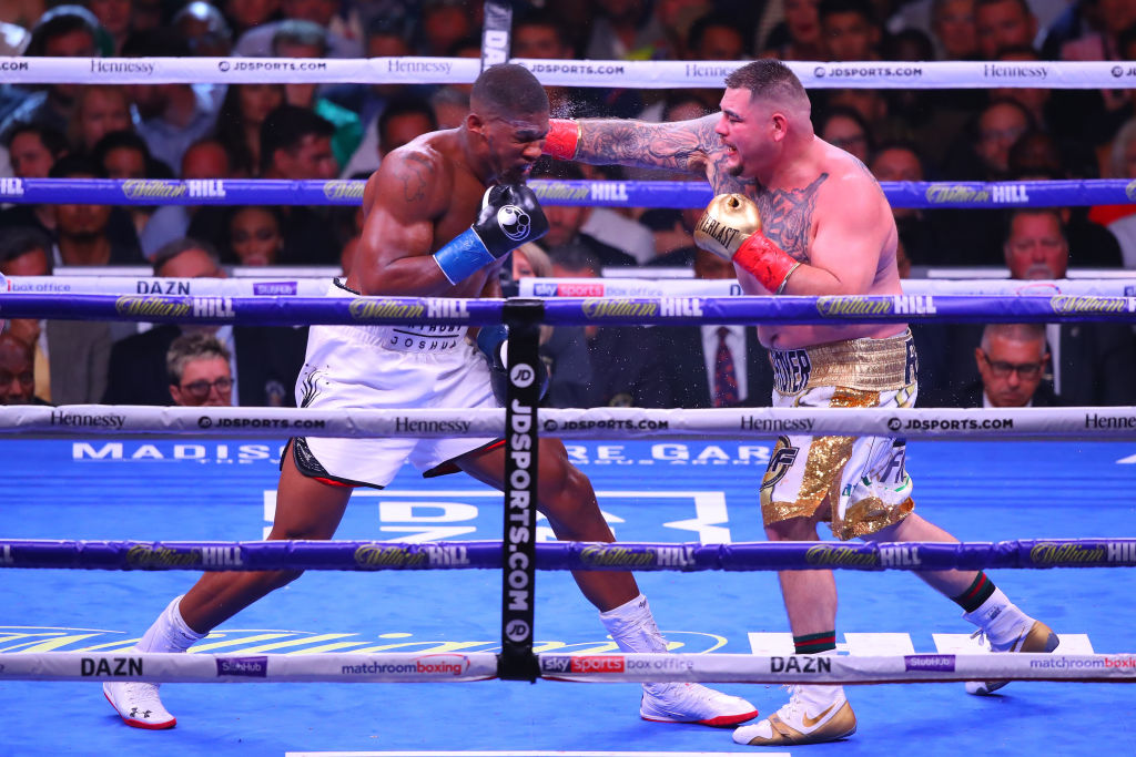 BOXING: JUN 01 Anthony Joshua v Andy Ruiz Jr