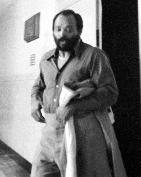 "Leroy ""Nicky"" Barnes leaving courtroom in the Bronx."