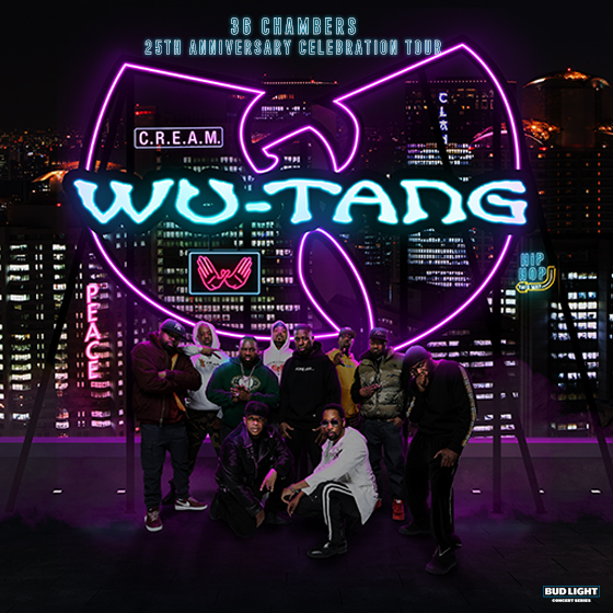Wu-Tang Clan 36 Chambers 25th Anniversary Celebration Tour