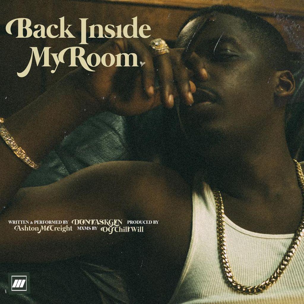 DontAskGen Back Inside My Room Cover