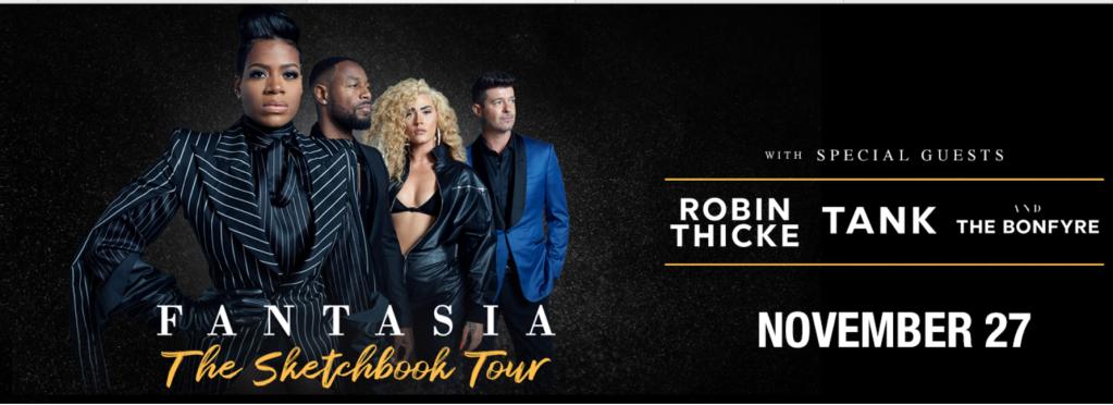 Fantasia The Sketchbook Tour Houston