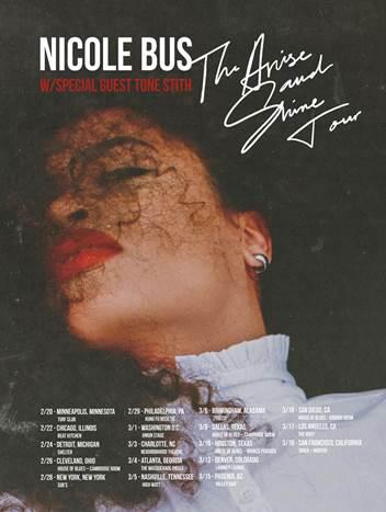 Nicole Bus - The Arise & Shine Tour