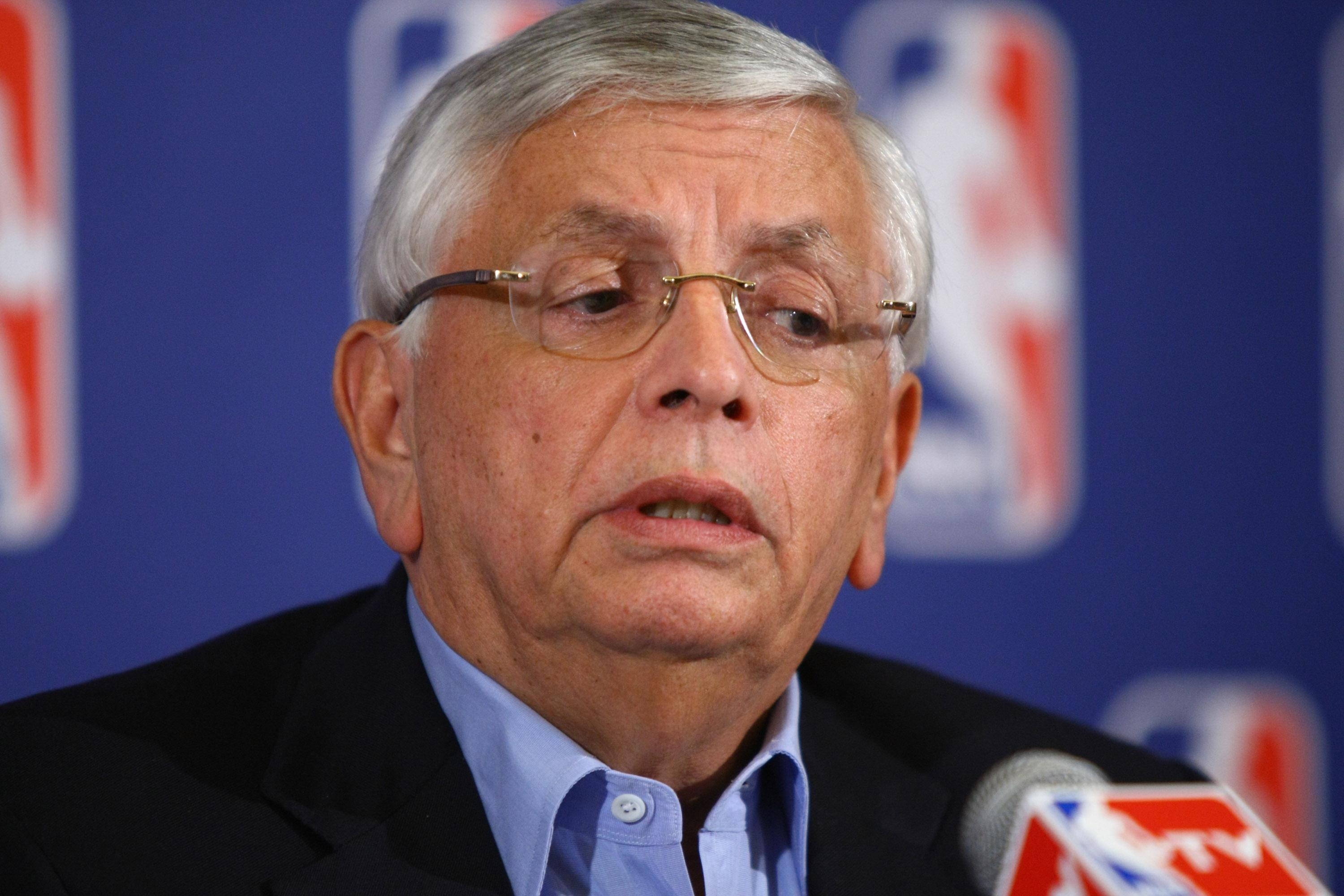 NBA players, referees to wear black bands as Stern tribute