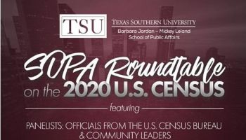 SOPA Roundtable On The 2020 U.S. Census