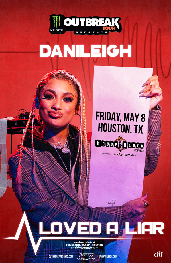 DaniLeigh - Loved A Liar Tour Houston