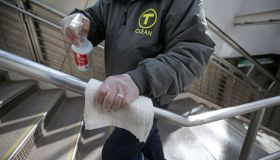 MBTA Steps Up Cleaning Efforts to Protect Against Coronavirus