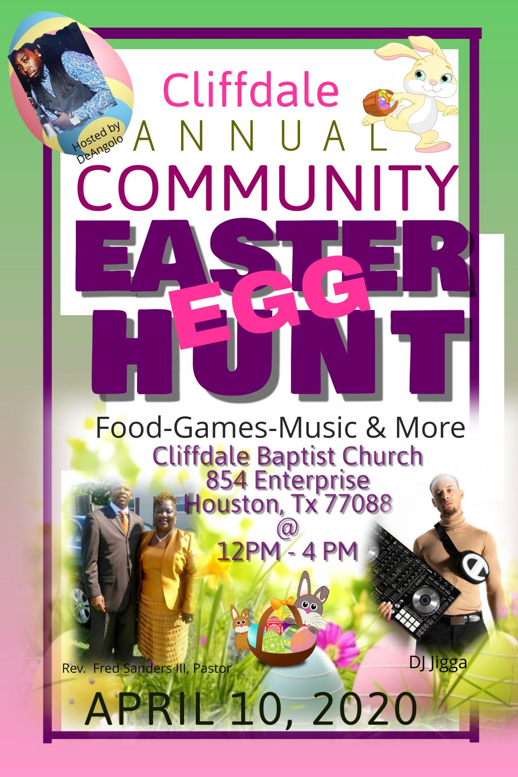 Cliffdale Annual Community Easter Egg Hunt