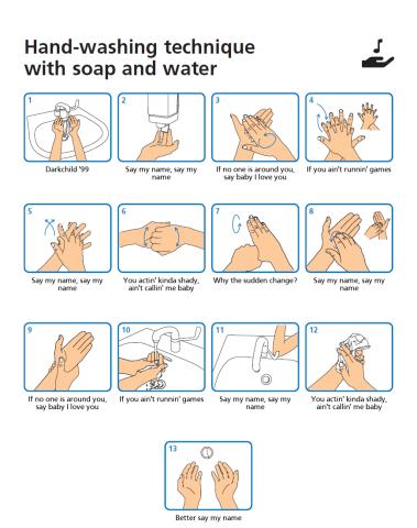 Wash Your Hands Meme Generator