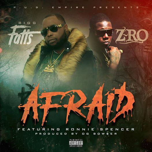 Bigg Fatts Afraid Cover