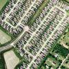 Affluent Residential Aerial