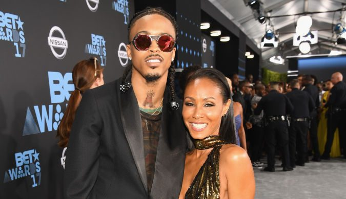 Jada Pinkett Smith Confirms August Alsina Relationship: 'I Just Wanted To Feel Good'