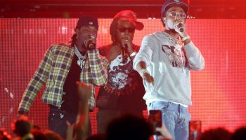 Machine Gun Kelly And Young Thug Perform At The Hollywood Palladium