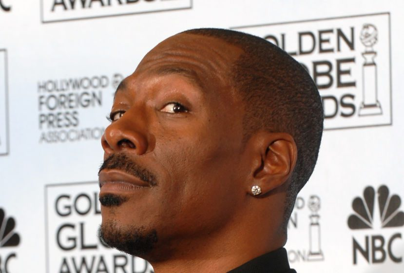 Eddie Murphy at Golden Globes